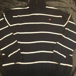 Vintage Polo Jeans RL Flag Logo 1/4 Zip.